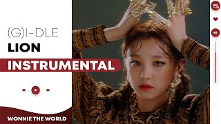 Gambar cover (G)I-DLE - LION | Official Instrumental