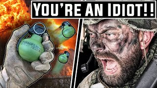I Bring $500 of Grenades to an Airsoft Milsim..