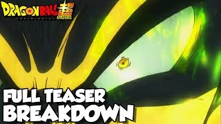 NEW SAIYAN ENEMY! Dragon Ball Super Movie 2018 Full Teaser Breakdown! Goku Vs A NEW Saiyan!