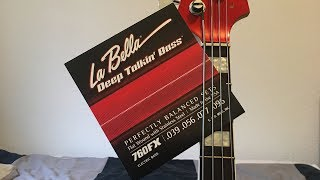 LaBella Flatwound Deep Talking Bass - Demo