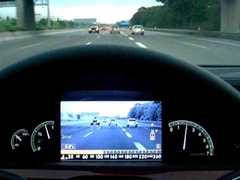Mercedes benz s class night vision plus youtube for Mercedes benz night vision