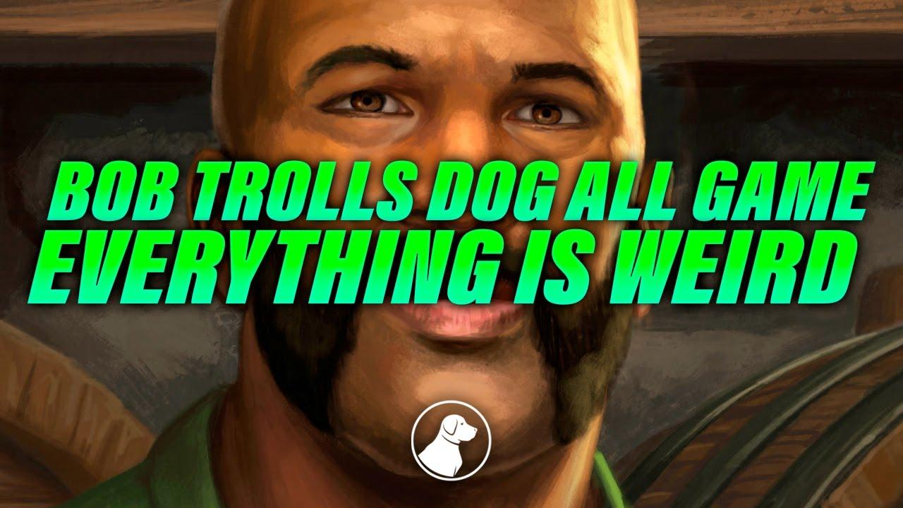 Bob Will Not Stop Trolling Dog, This Game is Weird | Dogdog Hearthstone Battlegrounds