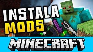Como Instalar Mods En Minecraft (Todas Las Versiones) 📺 ✅