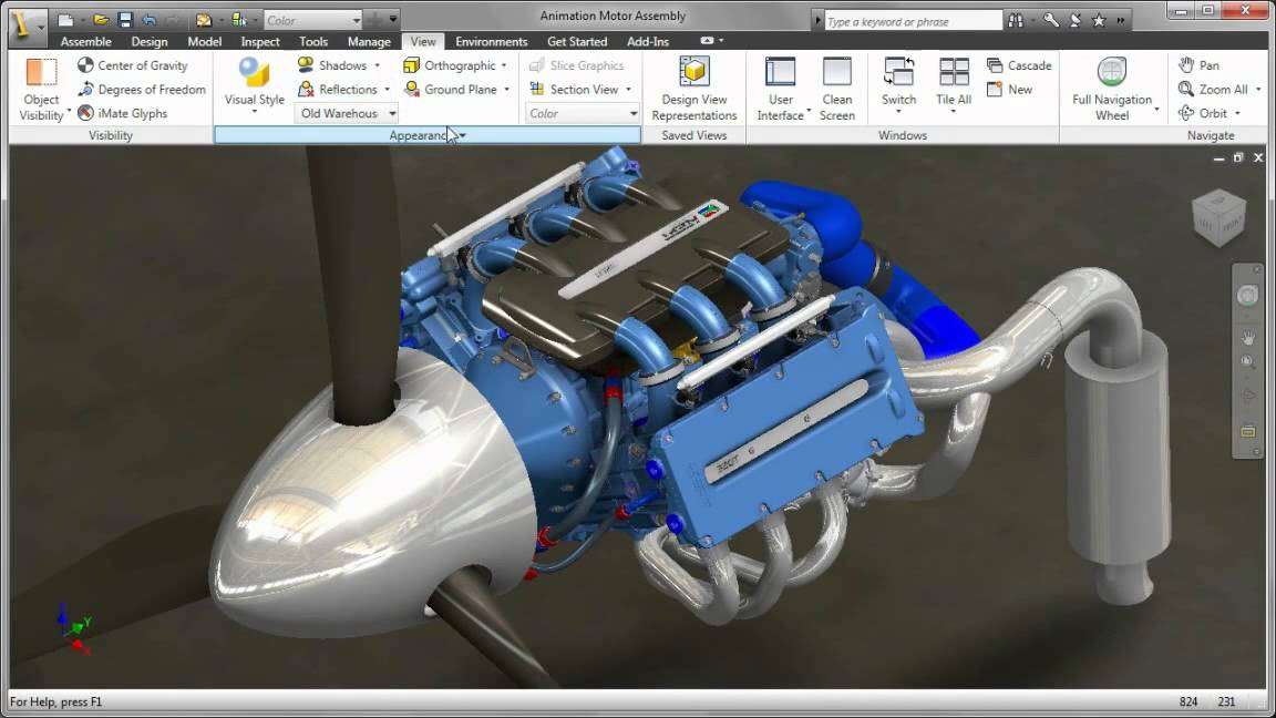CAD Rendering and Visualization Tools - Autodesk Inventor ...
