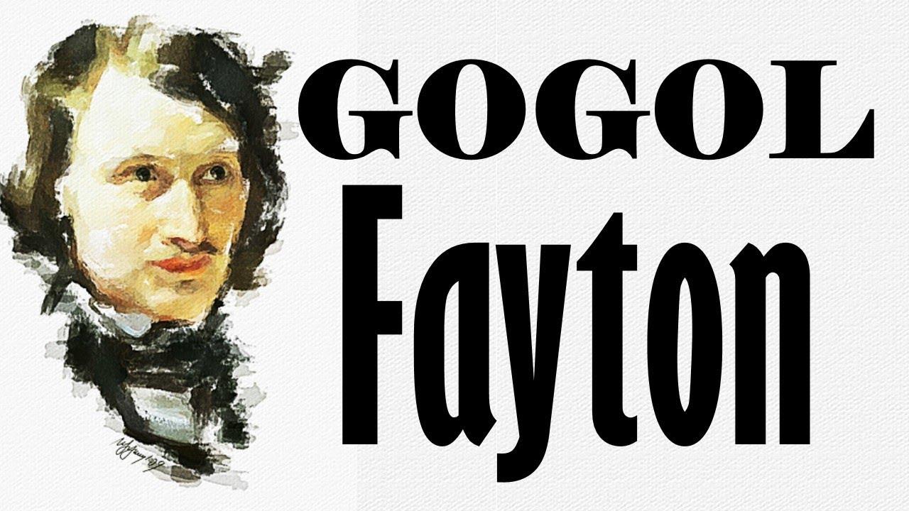 Sesli Kitap (Gogol) - Fayton