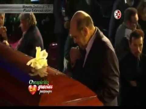 Señor barriga llóra con la canción Chespirito gracias por siempre