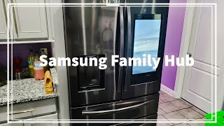 Samsung family hub review