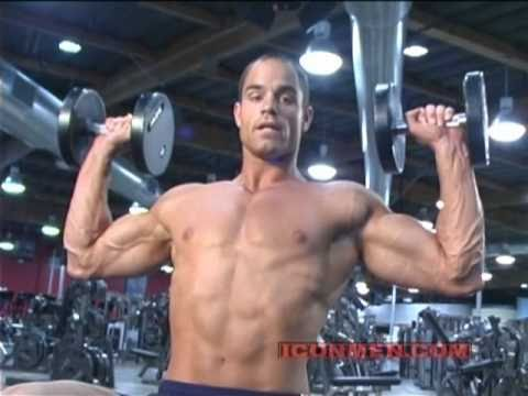 Brian Wade  Military Press Bodybuilding