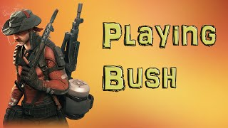 Dirty Bomb Bushwacker Turret Placement | Live Commentary