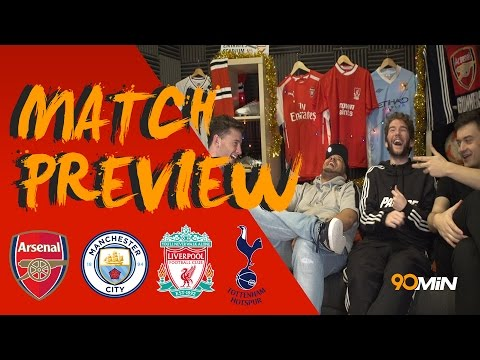 Man City vs Arsenal, City in trouble?! Karius vs Carragher & Everton vs Liverpool |90min Preview