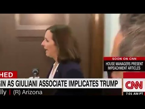 Martha McSally blasts CNN reporter as a 'liberal' hack for 'simply ...