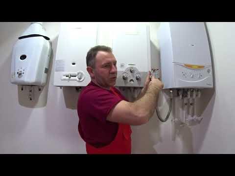 Подключение навесного газового котла к системе отопления