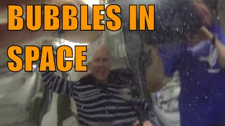 NASA Astronauts Create Water Bubble In Space / Tour of the International Space Station