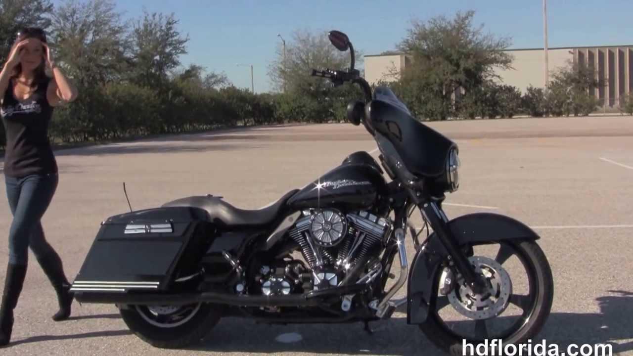 Used 2008 Harley Davidson Custom Street Glide Bagger for sale
