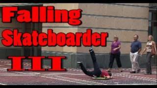 Public Pranks: The Falling Skateboarder 3