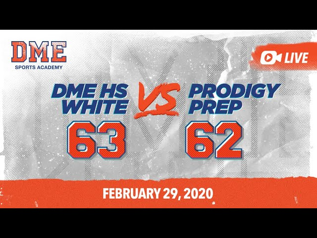 DME HS White vs Prodigy