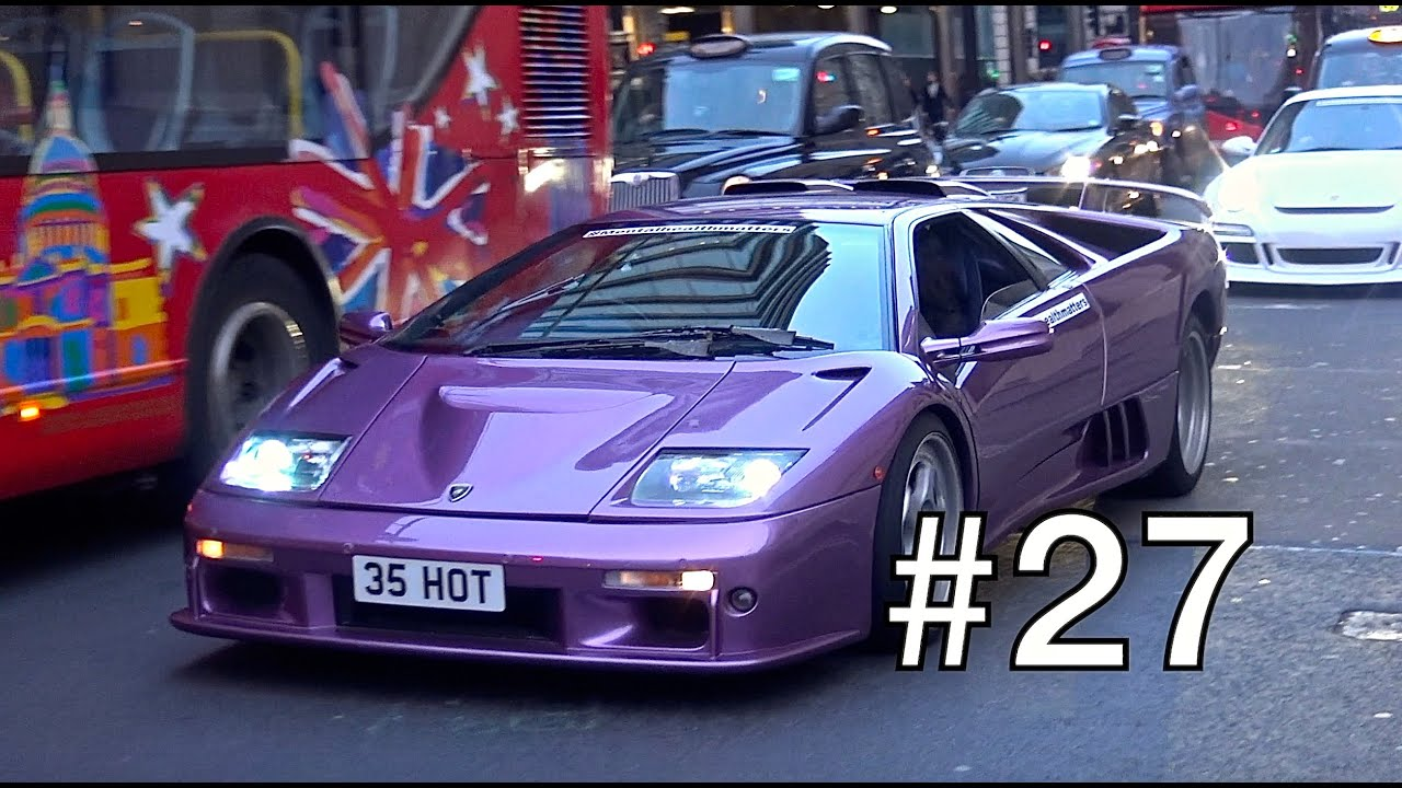 London Supercar Insanity #27 - Kream Developments Cruise, 2x Veyron, 4C Spider & More!!!
