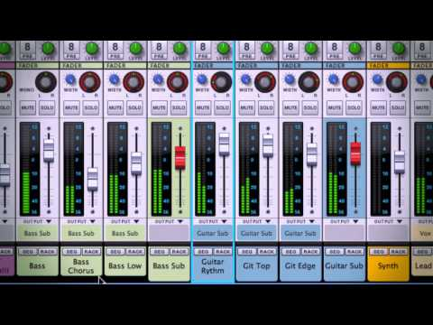 Reason has a Rack for Mixing
