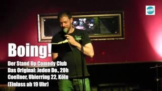 Heimlich gefilmt im BOING Comedy Club: Was haben wir am 15.12.2016 gelernt?