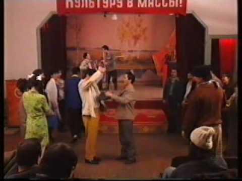 Вахит Хызыров и Расуль Карабулатов жгут