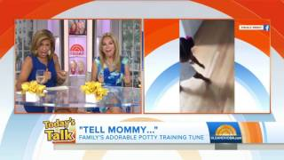 Watch this little girl dance to her mom's adorable potty training song   TODAY com