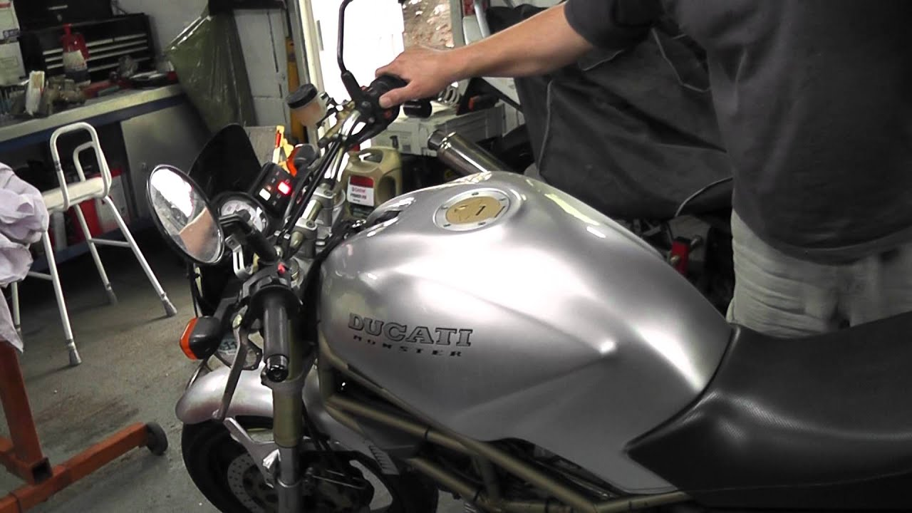 Ducati Monster Engine Noise