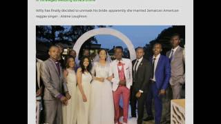 Willy paul marries Alaine.  (Breaking news).....
