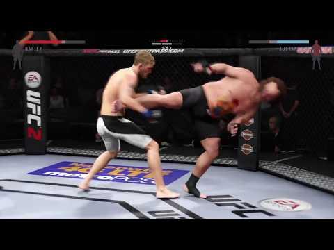 UFC Chicken Belly Taunts *Big Juke Finish*