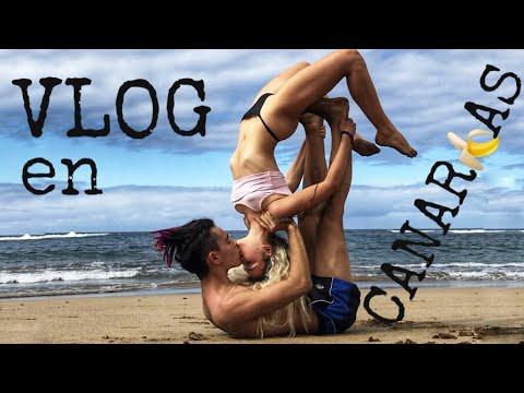 VLOG en canarias // Yoga y activismo veg