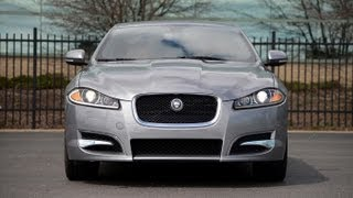 2013 Jaguar XF 2.0T - WR TV POV Test Drive