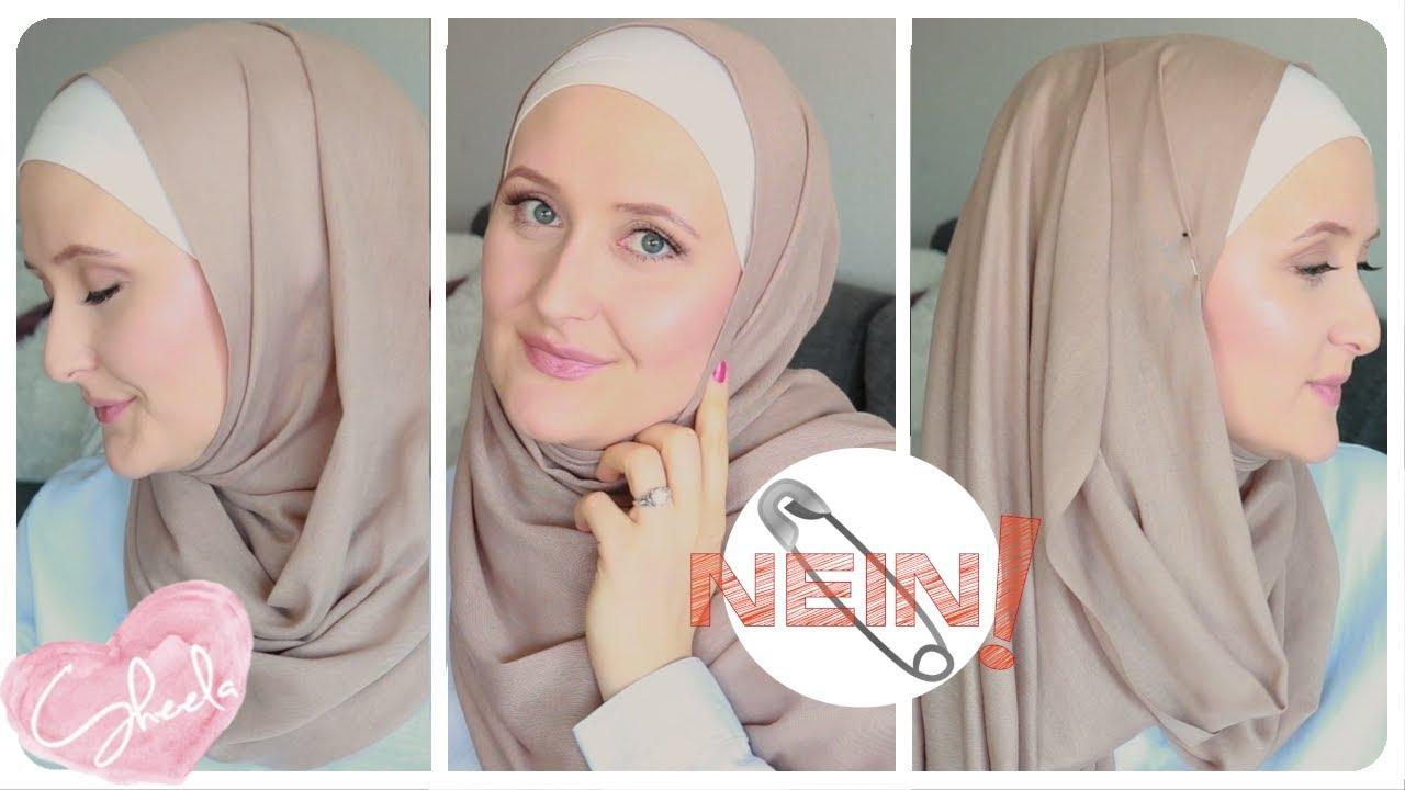 Kopftuch Binden Ohne Sicherheitsnadel Hijab Summer Styles Hijab Tutorial Youtube