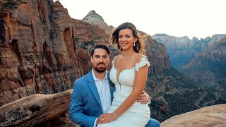 Elopement Wedding at Zion National Park