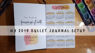 My 2019 Bullet Journal Setup | My Crafting World
