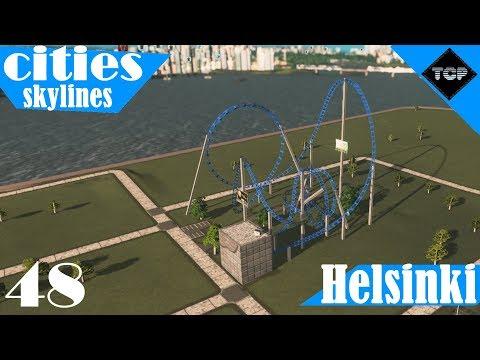 Cities: Skylines | Helsinki - Osa 48 | Linnanmäki?!