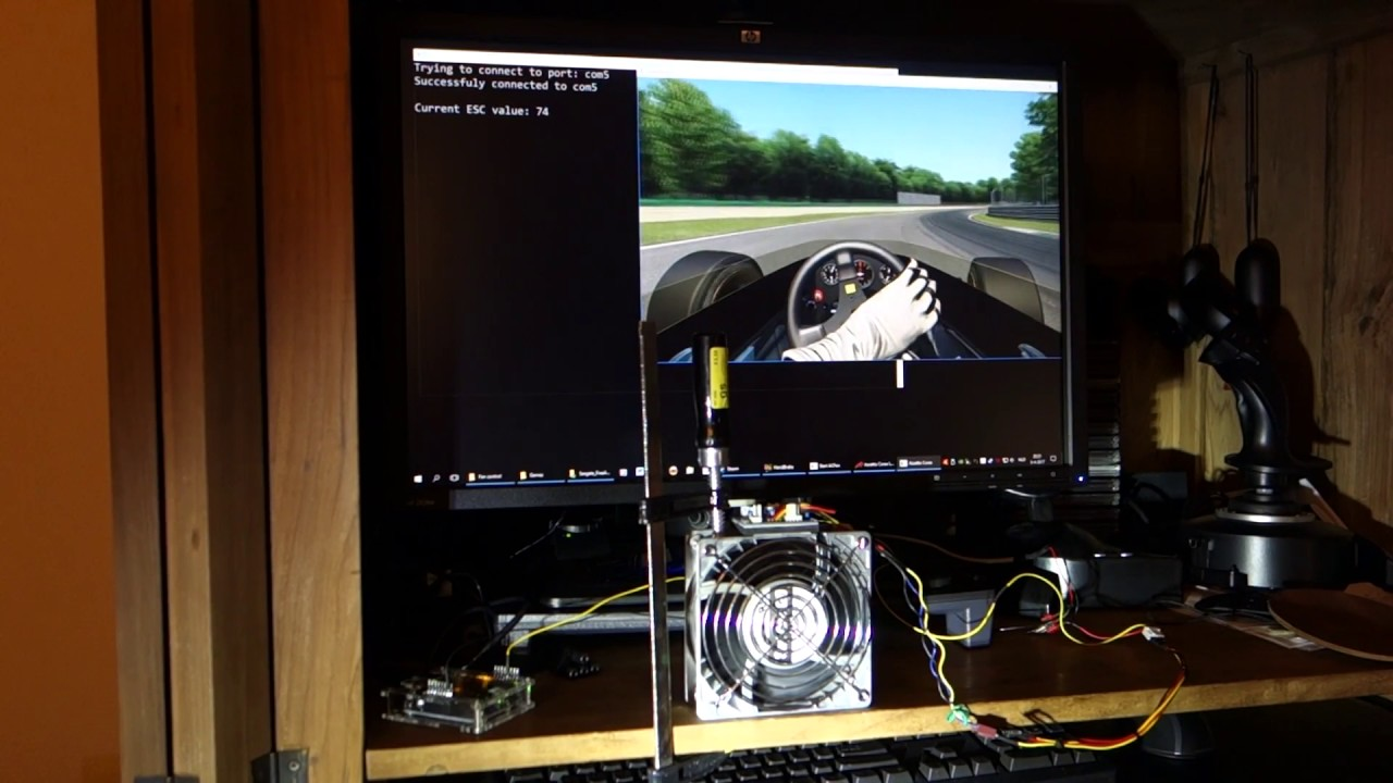 Easy DIY wind simulator for Assetto Corsa | RaceDepartment - Latest