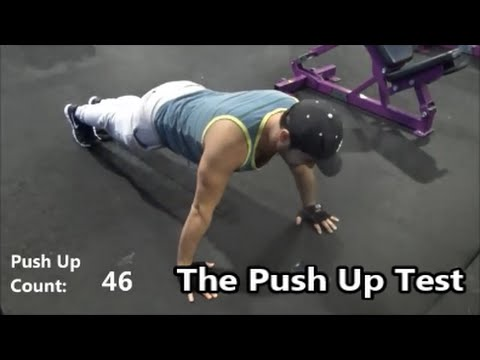 The Push Up Test Fitness Assessment
