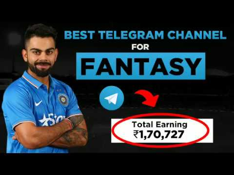 Dream11 Telegram Channel For Fantasy Prediction, Match News