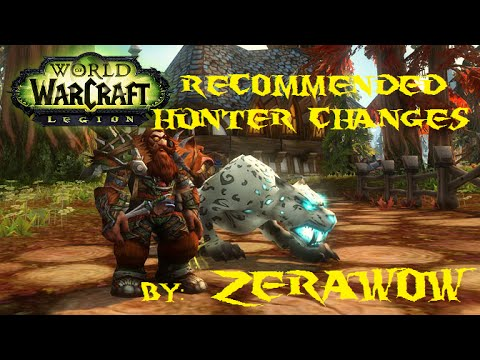 Recommended Hunter Class Changes | PLEASE BLIZZARD