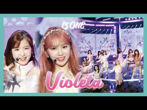 [HOT] IZ*ONE  - Violeta ,  아이즈원 - 비올레타 Show Music   Core 20190413
