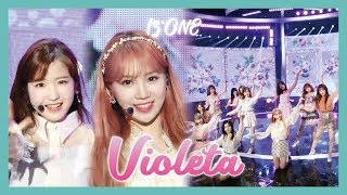 Gambar cover [HOT] IZ*ONE  - Violeta ,  아이즈원 - 비올레타 Show Music   core 20190413