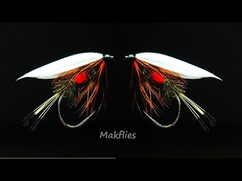 Fly Tying A Royal Coachman Wet Fly By Mak 🔥🔥🔥
