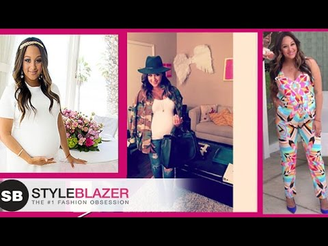 Download Youtube: Tamera Mowry-Housley: Maternity Style Do's & Don'ts