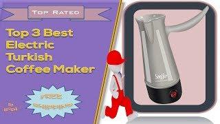 Top 3 Best Electric Turkish Coffee Maker | Mini Coffee Machine
