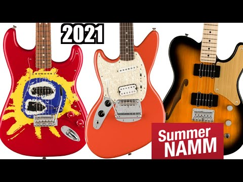 Fender Answered My Wish With This New Release   2021 Summer NAMM Squier / Fender Offerings