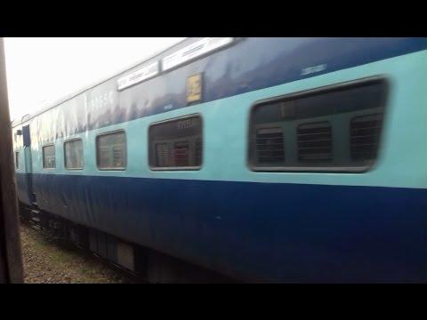 12403 Allahabad Jaipur Express Crossing Jodhpur Howrah Express.