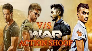 WAR MOVIE ACTION SHOOF TAILOR ll Hrithik Roshan-Tiger Shroff Fight Scene Shoof.