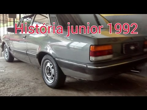 Historia Chevette Junior 1992