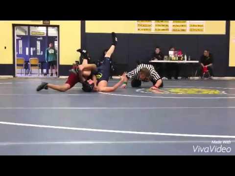 melvindale wrestling 13 years old kid goes beast