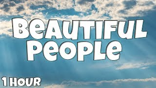 Gambar cover Beautiful People - Ed Sheeran feat. Khalid 【1 HOUR Loop】(Lyrics)