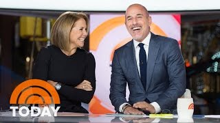 Matt And Katie Reunite At The Anchor Desk | Slice of Orange | TODAY